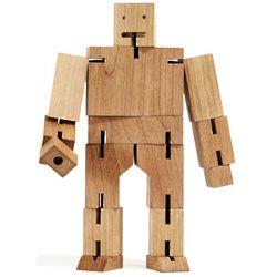 Large Cubebot Wooden Mind Bender