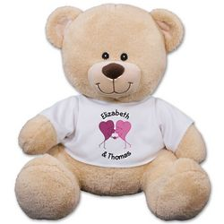 Personalized Romantic Couple Teddy Bear
