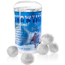 Snowtime Indoor Snowballs