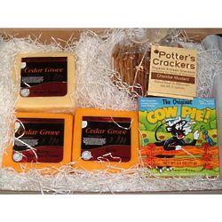 Wisconsin Three Cheese Gift Box