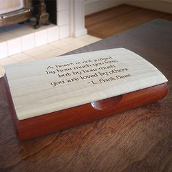 Inspiration Box with Wizard of Oz Quote