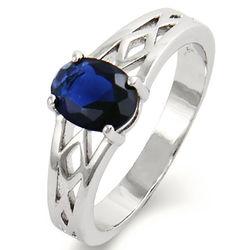 Woven Birthstone Ring