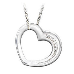 My Daughter Have I Told You Lately Heart Pendant