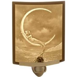 Mythical Mermaid and Moon Night Light