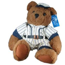 """Homer"" Classic Baseball Plush Bear"