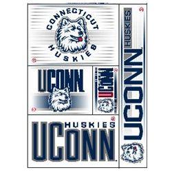 Connecticut Huskies/ UConn Window Clings Sheet