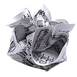 Sheet Music Paperweight