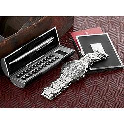 Executive Watch Gift Set