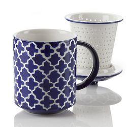 Rabat Blue Tea Infuser Mug