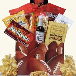 Football Fetish Valentine's Day Gift Basket