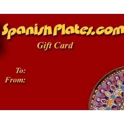 SpanishPlates Gift Certificate