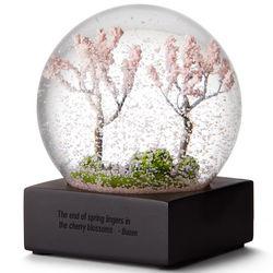 Spring Cherry Blossom Snow Globe
