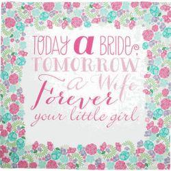 Mother of the Bride's Today a Bride Wedding Handkerchief