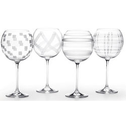 Expressions Balloon Wine Glasses Set