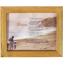 Framed Father Thank You Poem from Daughter