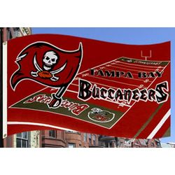 Tampa Bay Buccaneers Gridiron Flag
