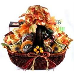 A Bountiful Harvest Gift Basket
