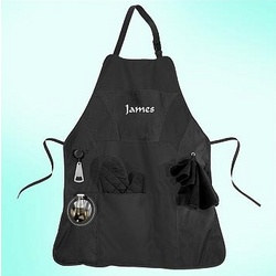 Charles Personalized Grill Master Apron Kit
