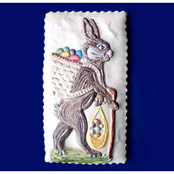 Large Easter Bunny Springerle Cookie