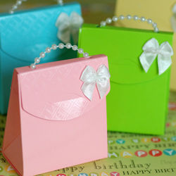 Pearl Handle Party Favor Bag Kit
