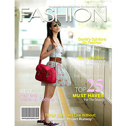 Fashion Personalized Magazine Cover