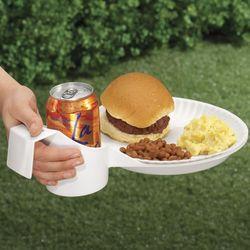 Drink-N-Plate Holder