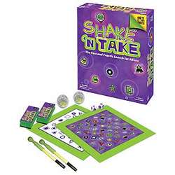 Shake 'n Take Board Game
