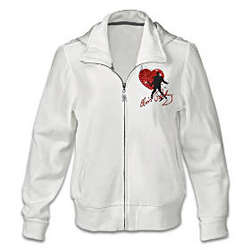Elvis Heartthrob Women's Hoodie Jacket