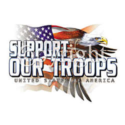 Support Our Troops Patriotic T-Shirt