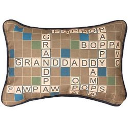 Only One Grandfather Word Pillow