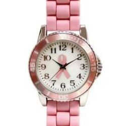 Cure For Breast Cancer Pink Watch