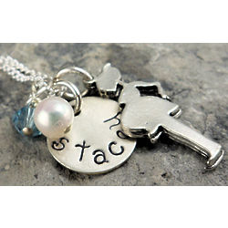 Mommy to Be Personalized Necklace or Keychain