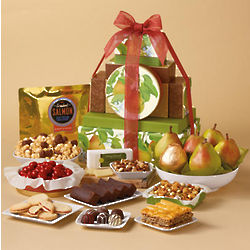 Fruit and Sweets Tower of Treats Gift Box