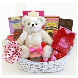 Love You Baby Cakes Valentine Basket