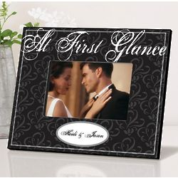 Personalized At First Glance Picture Frame