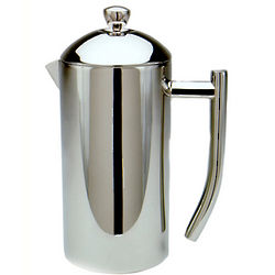 Brushed French Press Coffee Maker