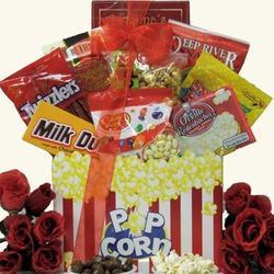 Date Night Valentine's Day Movie Gift Basket