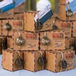 Vintage Airmail Favor Boxes