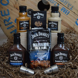 Jack Daniels Barbecue Sampler Gift Basket