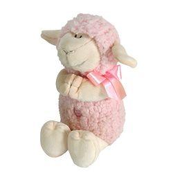Pink Praying Lamb Stuffed Animal
