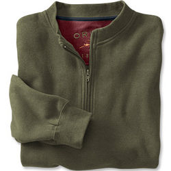 Supersoft Cotton Polo Sweatshirt