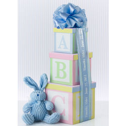B is for Baby Gift Tower