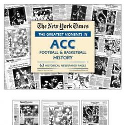 Greatest Moments in ACC Football & Basketball Book