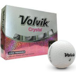 Crystal White Golf Balls