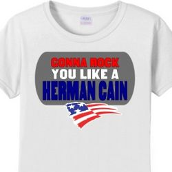 Rock You Like a Herman Cain Women's T-Shirt