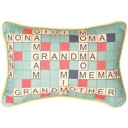 Only One Grandmother Word Pillow