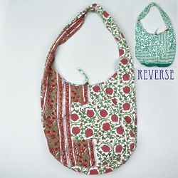 Green Vine Reversible Bag