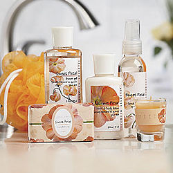 Sweet Petal Scented Bath Set