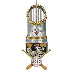 MLB San Francisco Giants 2012 World Series Champions Ornament