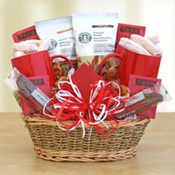 Starbucks Valentine's Day Gift Basket